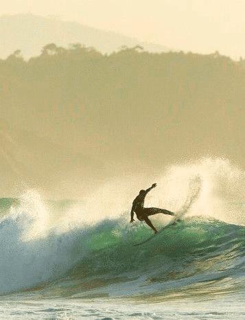 surfeando ola jorge en salinas