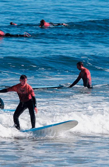 clase surf infiantil