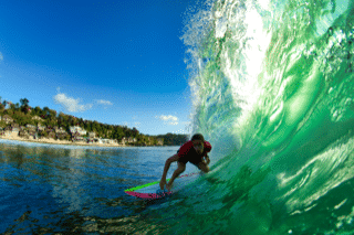 clase de surf mañana