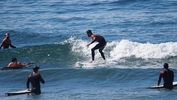 nivel 2 clases de surf