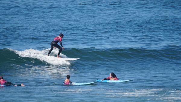 Nivel 3 clases de surf