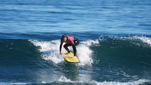 Nivel 1,5 clases de surf